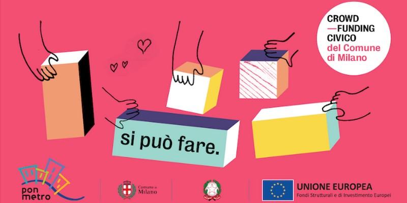 Il Comune di Milano lancia un bando per co-finanziare campagne di crowdfunding civico