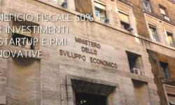 MISE pubblicato DL attuativo beneficio fiscale 50% su investimenti