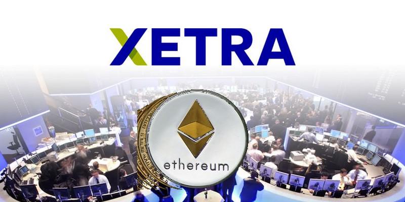 ETP su Ethereum quotato alla borsa tedesca Xetra
