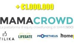 Mamacrowd quattro round equity crowdfundingsopra 1 milione