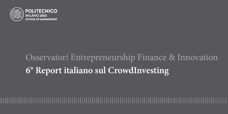 Politecnico Milano 6 report crowdinvesting