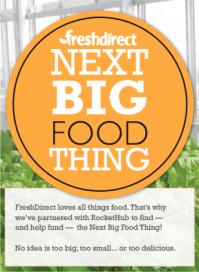 Next Big Food Thing RocketHub