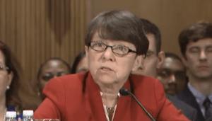 Mary Jo White Testifying at Senate Banking Committee
