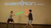 Sabertron Battle