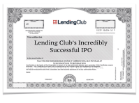 Lending Club Successful IPO