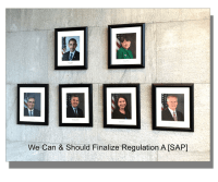 SEC Commissioners Should Finalize Regulation A