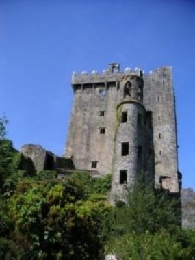 Ireland Where the Blarney Stone rests