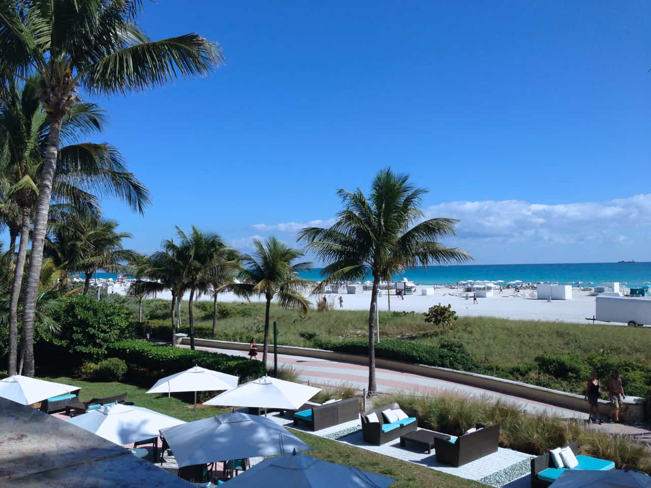 Miami Beach View from the Ritz