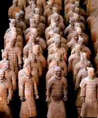 terracotta-warriors in china