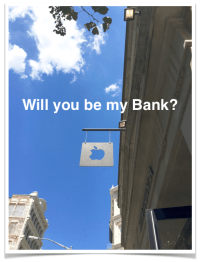 Apple Will You Be My Bank