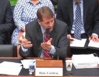 Richard Cordray testifying 1