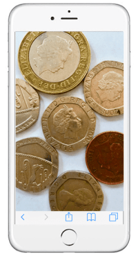 iphone-coins-money-uk