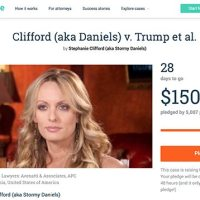 Stormy Daniels Launches CrowdJustice Campaign to Raise Funds For Her Legal Battle Against President Trump