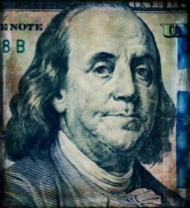 Benjamin Money Dollars 100