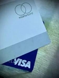 Credit Cards Mastercard VisaJPG