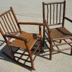 Hickory Chairs For Sale Baby High Chair Reviews Pair Armchair And Rocker Crow Haven Restorations