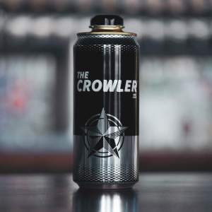 32oz Generic Decorated Twistee Crowler® - 111 Cans