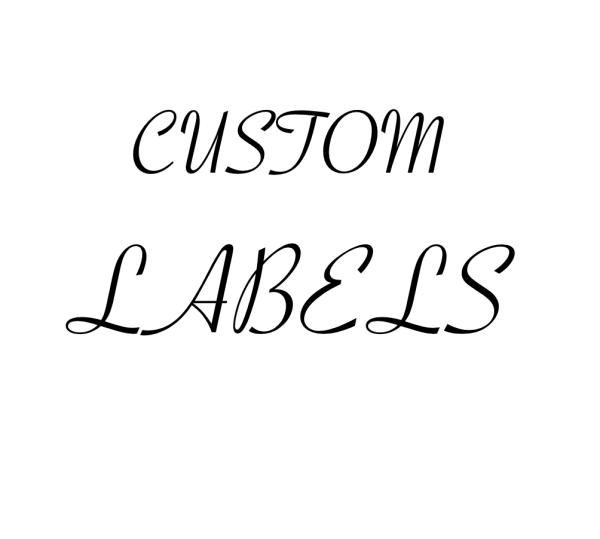 300 Custom labels