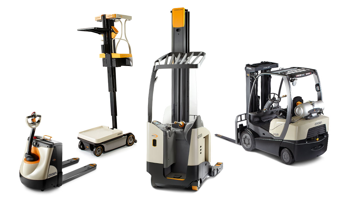 hight resolution of forklifts
