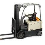 FC Series 4-Wheel Sit-Down Electric Counterbalance Forklift