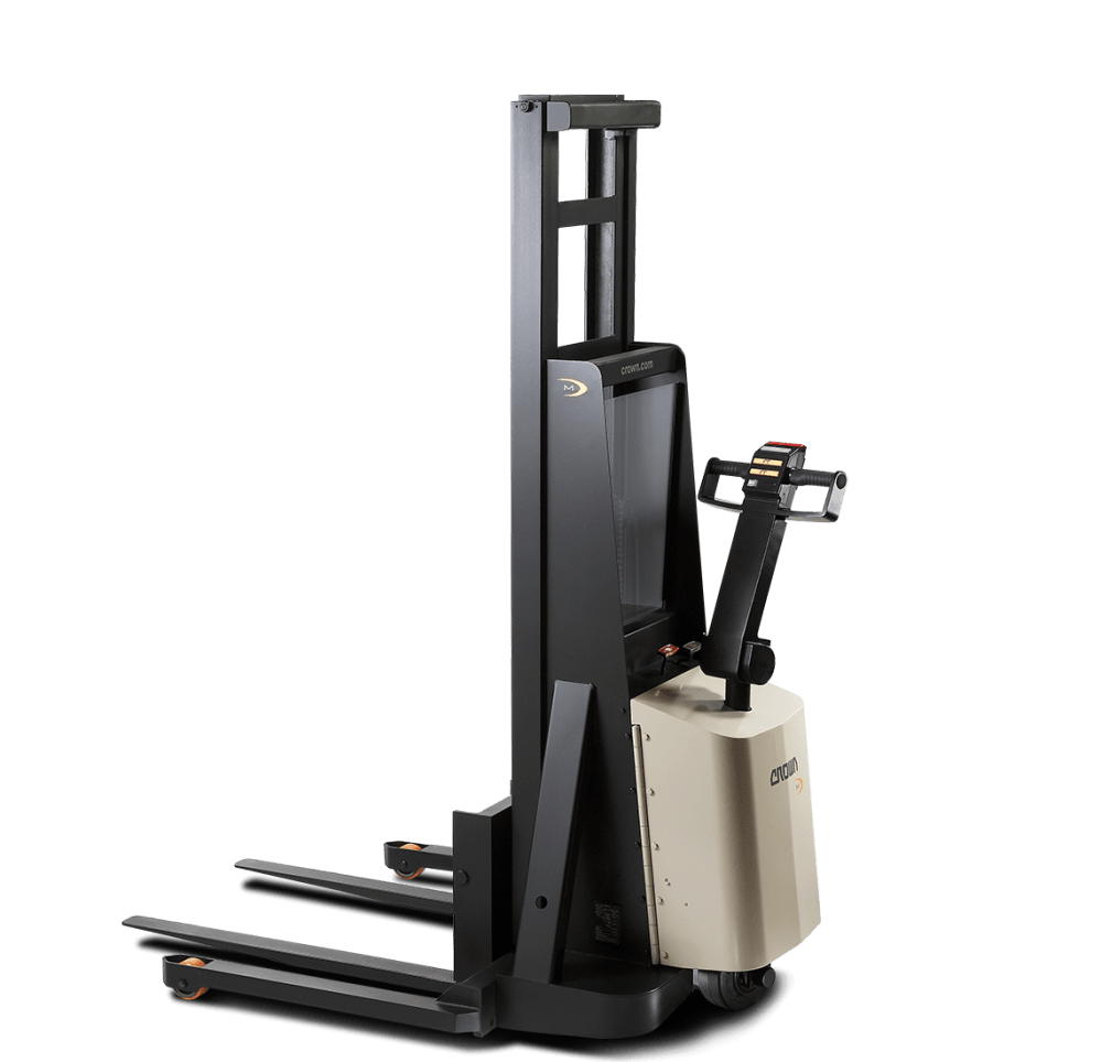 medium resolution of crown m series walkie pallet stacker