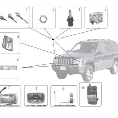 2002 Dodge Intrepid Engine Diagram Asco 962 Wiring Lamps - Grand Cherokee (93-98) | Crown Automotive Sales Co