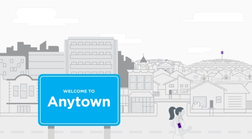 small resolution of in our example let s imagine that anytown is a mostly residential suburban community of modest size near anytown is a cell tower that provides wireless