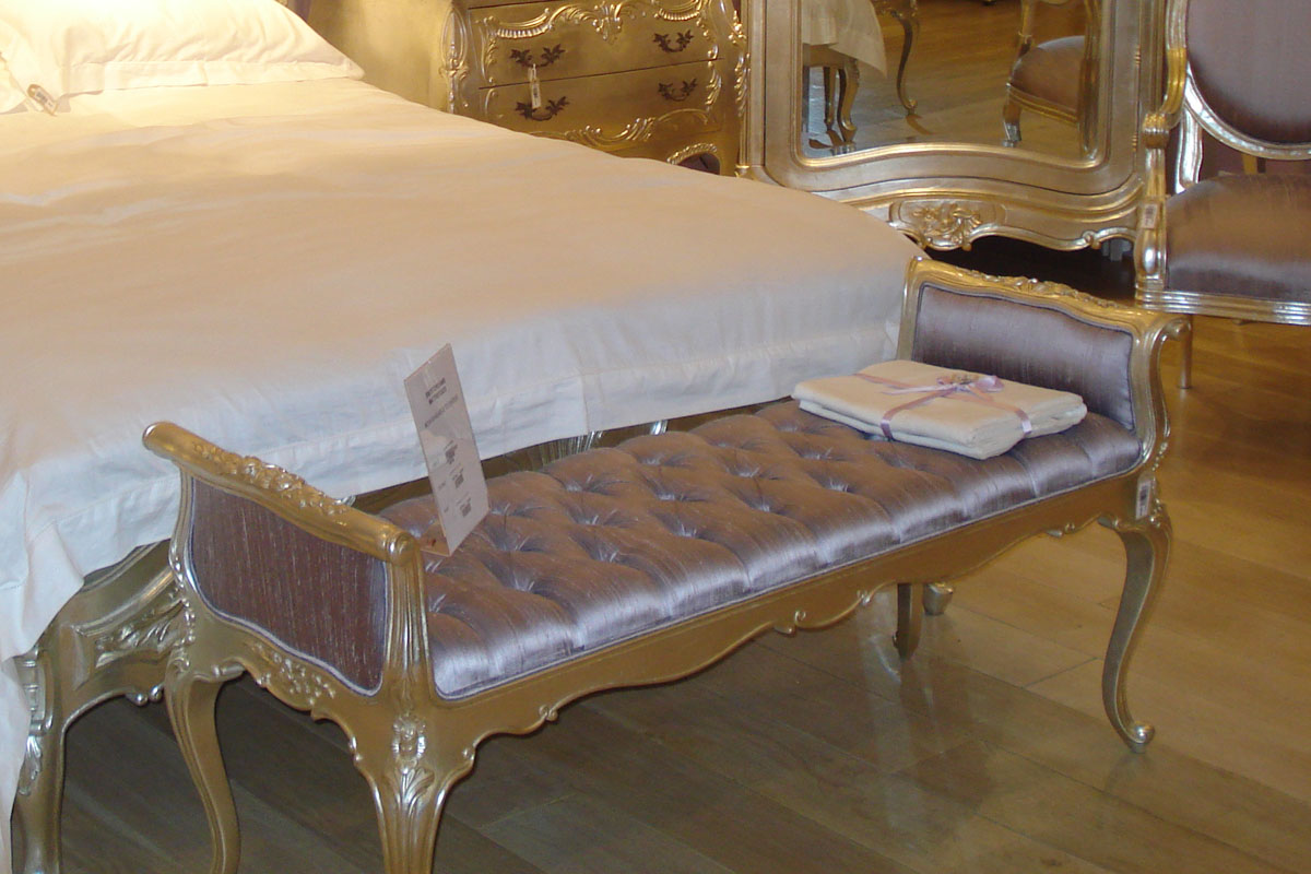 chairs for the end of your bed tattoo chair sale french bedroom furniture crown