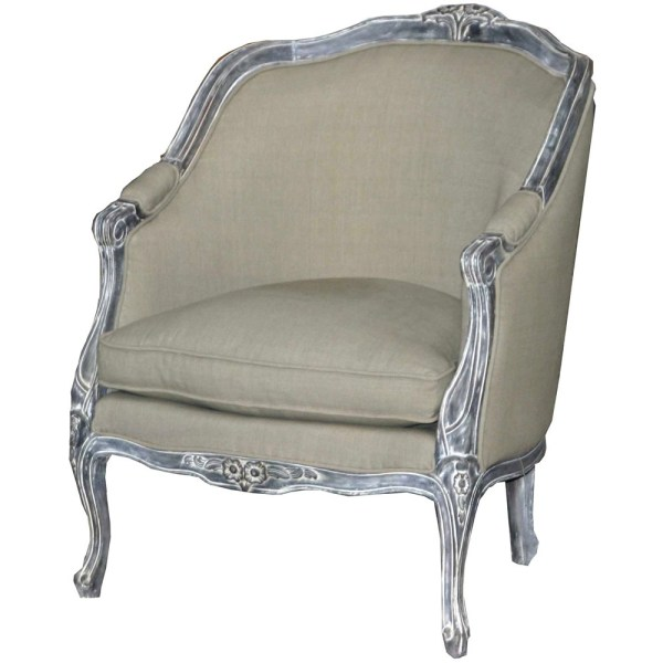 Louis French Carved Armchair | French Chairs | French ...