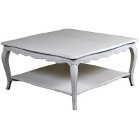 Louis French Coffee Table, Grey | French Shabby Chic ...