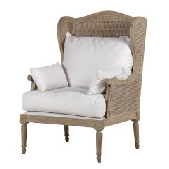 French Bergere Chair Restaurant Repair Midland Oak Style Chairs Furniture Armchairs