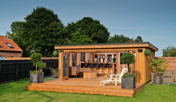 Garden Room Design Ideas Crown Pavilions