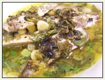 Broiled Sardines with Lemon and Cilantro Vinaigrette