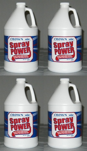 Spray Power 4 Gallon Pack