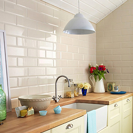 kitchen wall tiles 42 inch cabinets crown brillo liso range