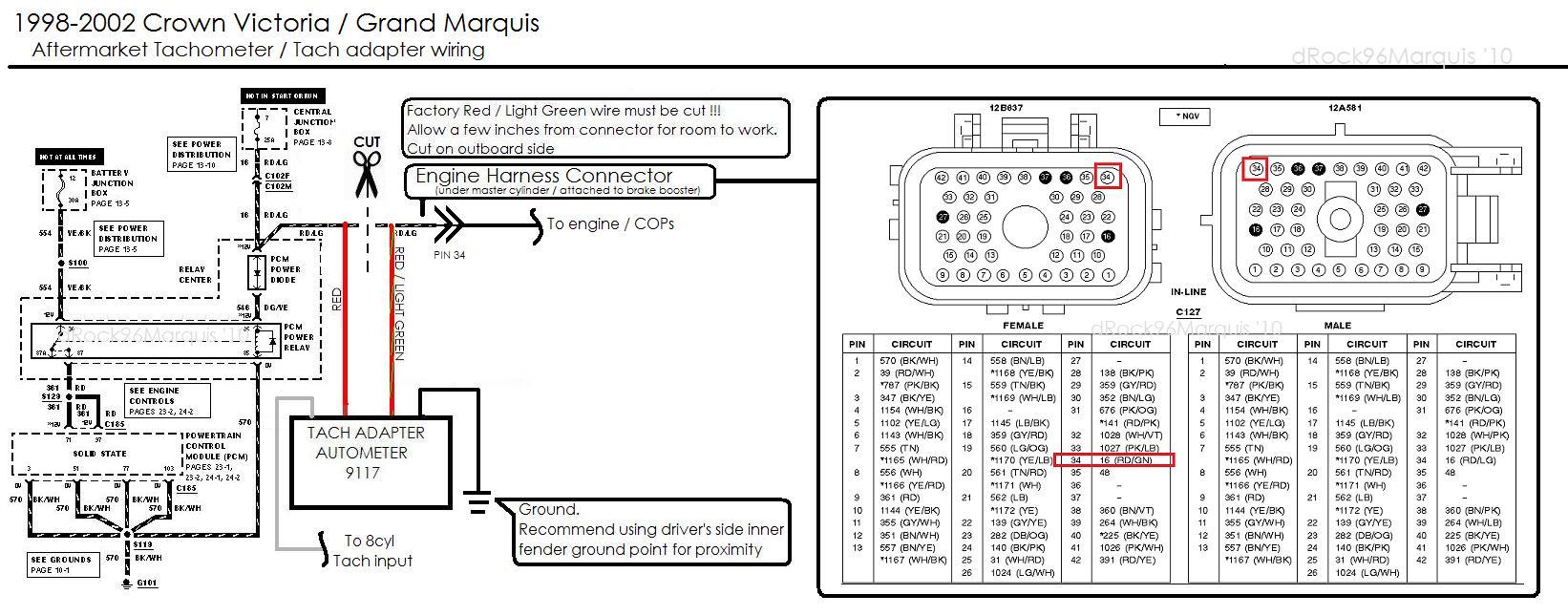 hight resolution of auto meter sport p tach wiring diagram