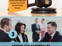 Infographic 5 Tips For Choosing The Right Lawye
