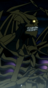 Horrors are as mean as they look. Hungry for humans, too. Capture from Funimation's stream.