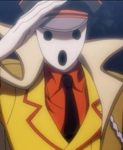 I'm guessing that Ainz created Pandora's actor before Ainz mastered facial textures. Capture from Funimation's stream.