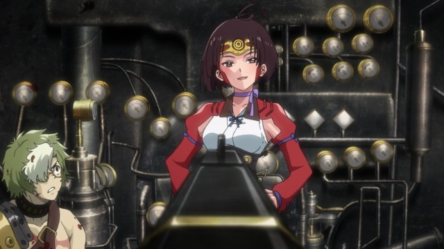 Kabaneri of the Iron Fortress Episode 3: Rifles don't scare Mumei