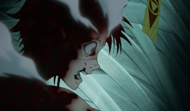 """The CROWs called him a """"damned doll,"""" but Alma Karma fought to save Kanda. What were the CROWs fighting for? Capture from the Funimation stream."""
