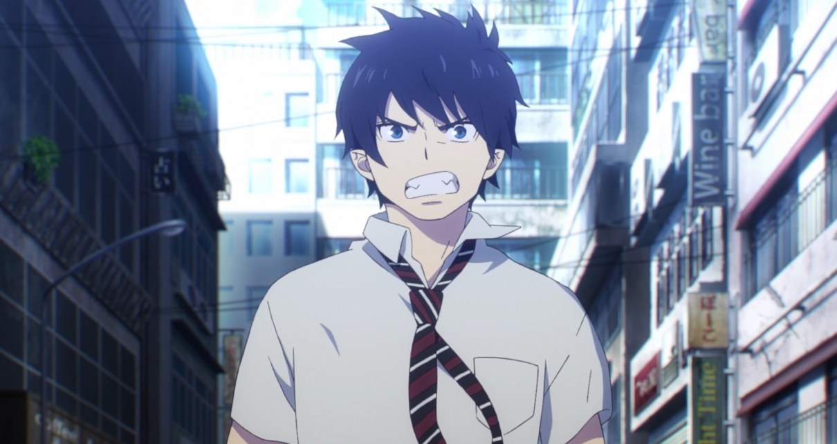 Blue Exorcist Kyoto Saga Episode 1: Rin wanted to be in on the action