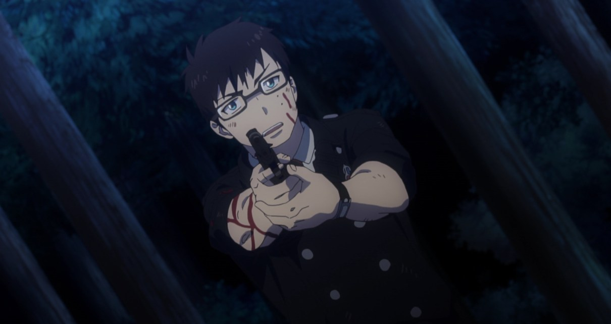 Yukio struggles against Todo