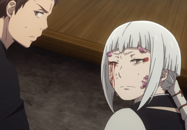 Blue Exorcist Kyoto Saga Episode 7: Mamushi and Juzo have a complicated relationship