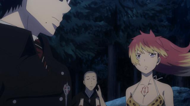 Blue Exorcist Kyoto Saga Episode 8: Kirigakure encourages Yukio