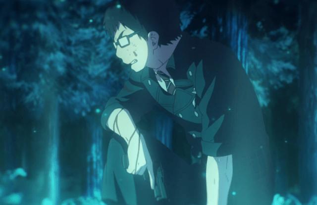Blue Exorcist Kyoto Saga Episode 9: Yukio hung in there