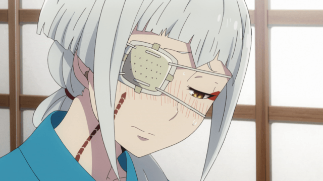Blue Exorcist Kyoto Saga Episode 12: Mamushi admitted she wouldn't see her marriage to Juzo as a punishment.