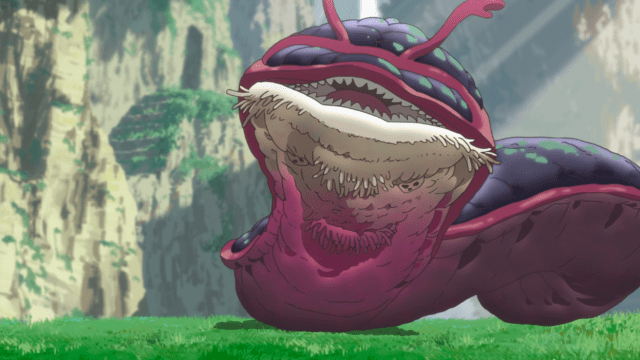 Made in Abyss Episode 1: The crimson splitjaw is wildly dangerous