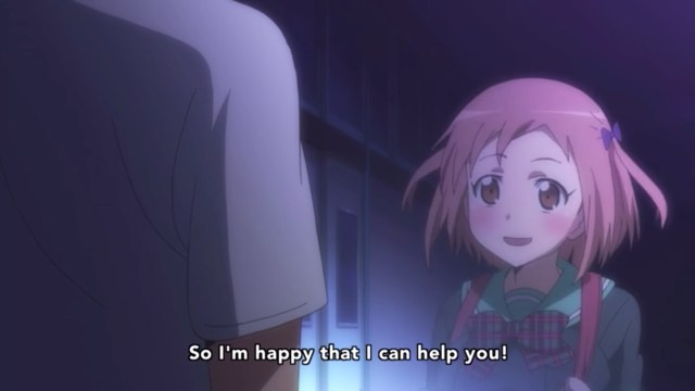 The Devil Is a Part-Timer Episode 6: Chiho is just adorable