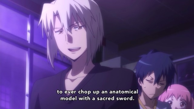 The Devil Is a Part-Timer Episode 6: Shirou's recovering his style